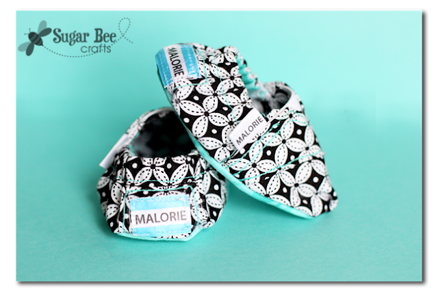 Sew toms baby shoes