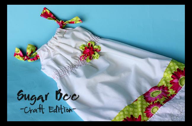 Shirred Pillowcase Dress Tutorial & Shirred Pillowcase Dress Tutorial - Sugar Bee Crafts pillowsntoast.com