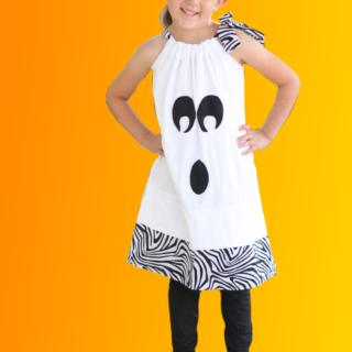 ghost dress costume idea