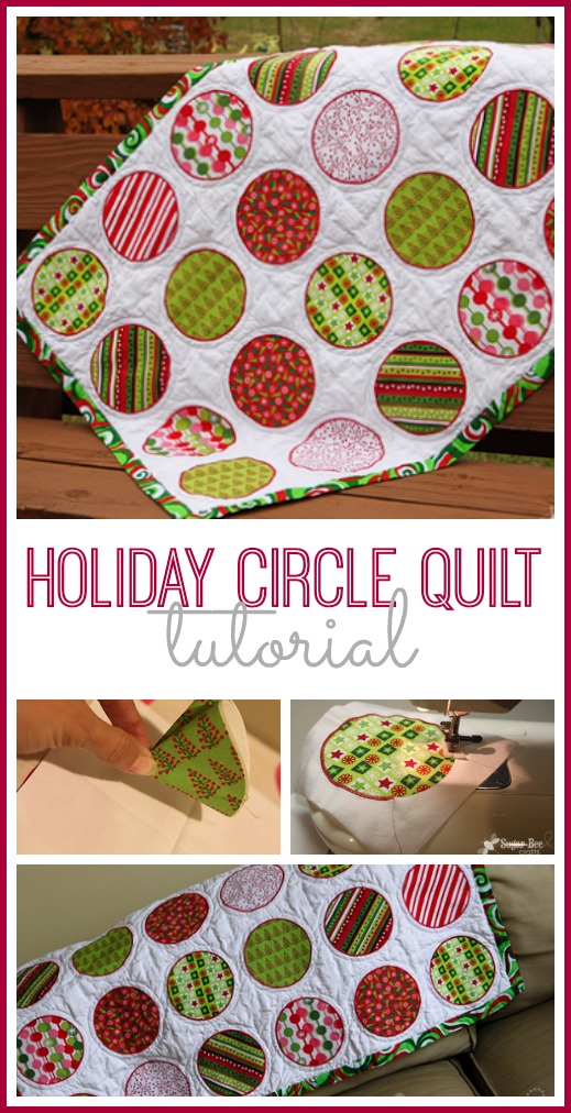 holiday circle quilt