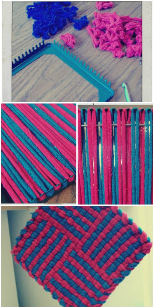 Loom potholder design idea