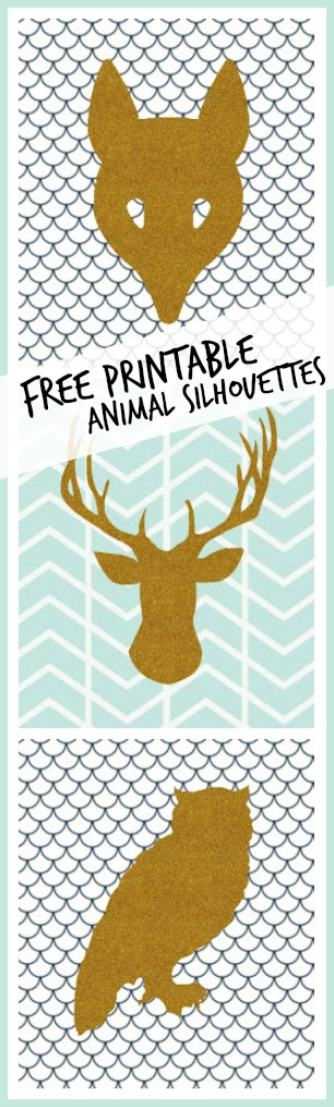 Free printable animal sihouettes