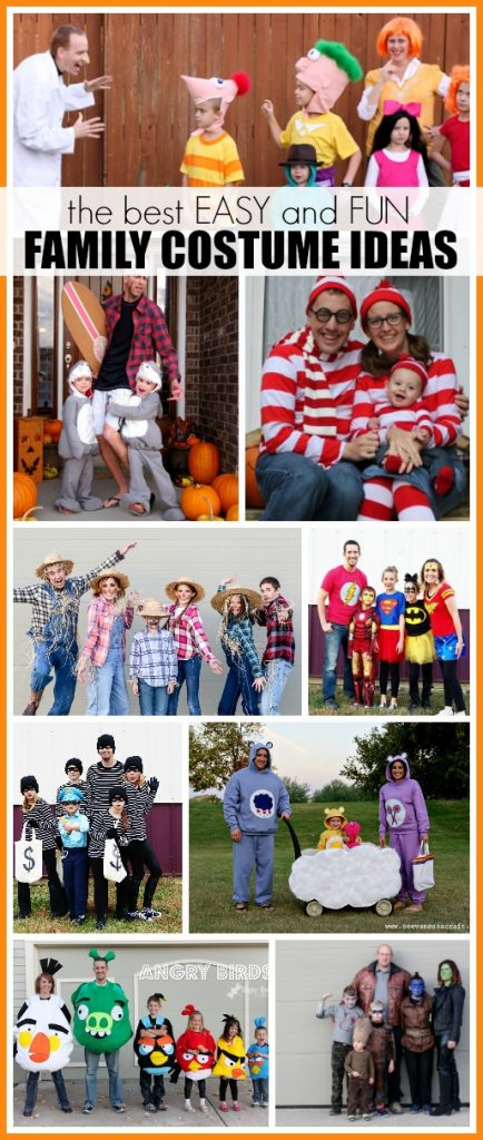 Easy family costume ideas for groups