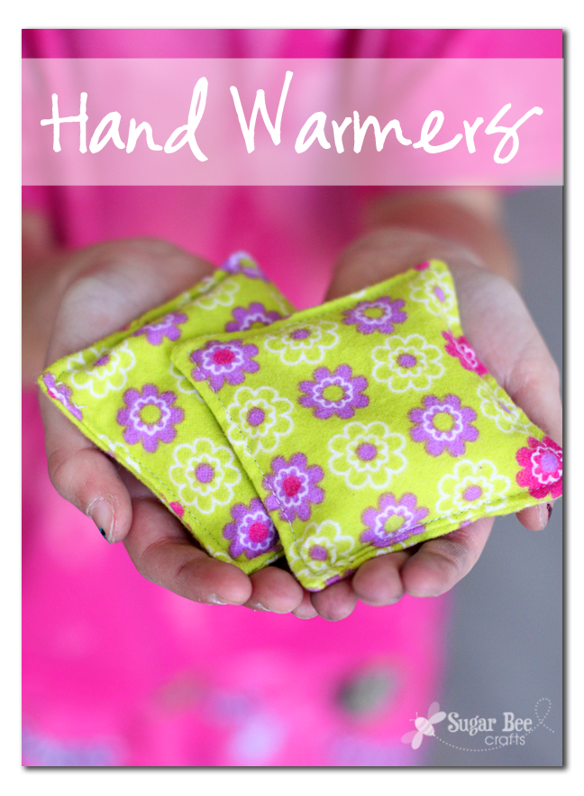 Simple sewing hand warmers sugar bee crafts for Quick and easy sewing projects to sell