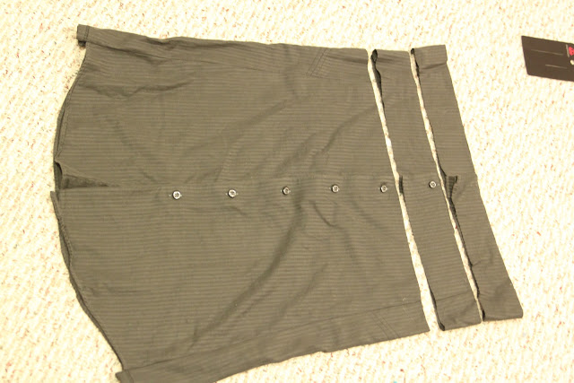 Men's Shirt to Skirt – Refashion
