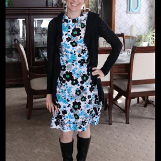 Handmade Dress, Simplicity 3835
