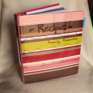 Personal Recipe Book