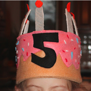 Felt Birthday Hat