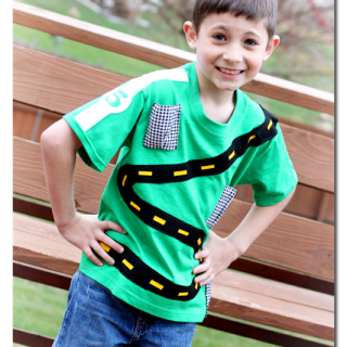 Interactive Boy Shirt – Racecar Play Shirt