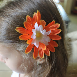 Flower Clips, Boutique Style