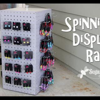 Spinning Display Rack
