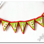 Bunting Ornament