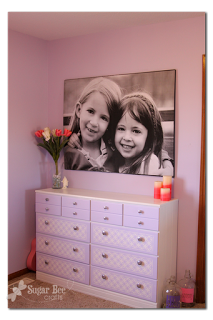 Giant Picture for Cheap - a DIY Tutorial