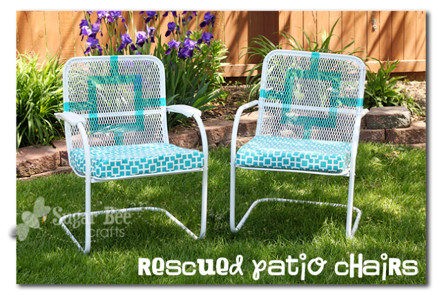 Trash To Treasure Patio Chairs Sugar Bee Crafts