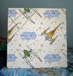 Fabric Bulletin Boards, take 2