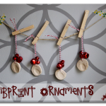 Thumbprint Ornaments