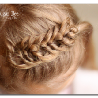 The Knotted Braid Headband | Braided Hairstyles