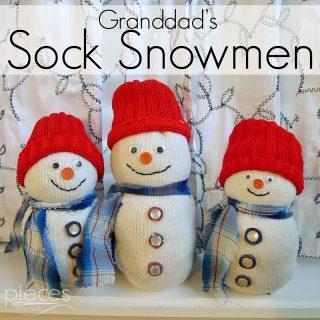 1080 sock snowmen