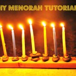 DIY Menorah – The Crafeteria