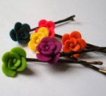 Mini Polymer Clay Flowers