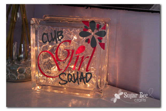 Showing off reader feature sugar bee crafts for Hollow glass blocks for crafts