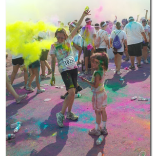 color run - - color celebration