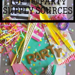 Party Contributor: 10 Party Supply Sources