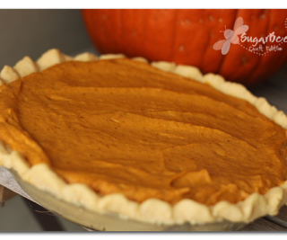 Pumpkin Pie- you can do it!!