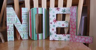 Easy Decorative Letters