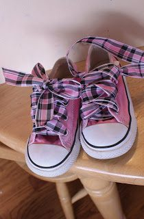 Ribbon Shoelaces