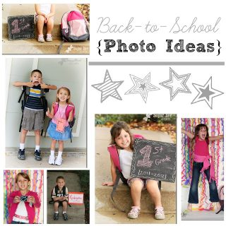 First Day of School – Photo Ideas