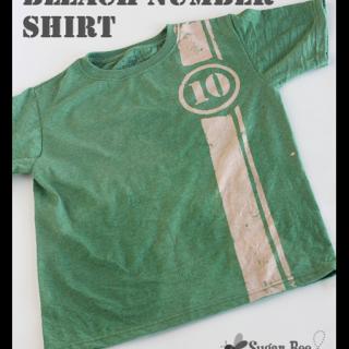 Bleach+number+shirt