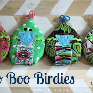 Boo Boo Birdies – Twin Dragonfly Designs