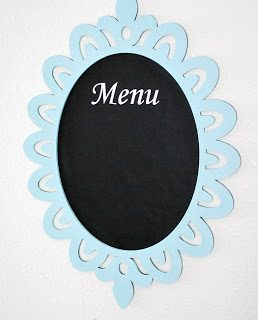 Chalkboard+menu+