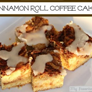 Cinnamon Roll Coffee Cake #desserts