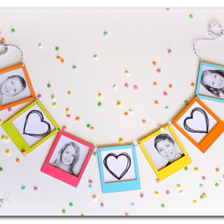 Photo Frame Banner (mini) – DIY Tutorial!