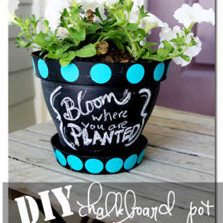 Diy+chalkboard+pot