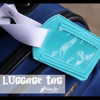 Diy+luggage+tage