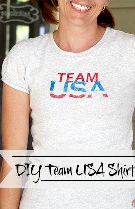 Olympics!  DIY Team USA Shirt