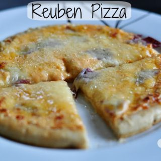 {Food Contributor} Reuben Pizza