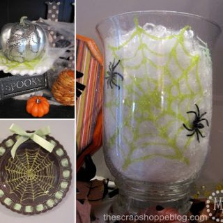 easy decor spiderweb plate 1.9