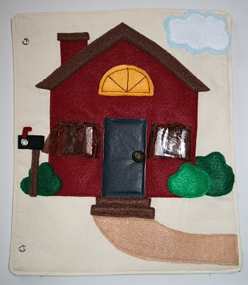 Gift idea quiet book sugar bee crafts for The idea door quiet book