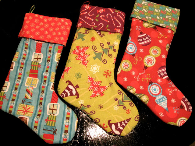 Homemade Stockings The Pless Press Sugar Bee Crafts