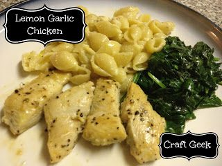 Lemon+garlic+chicken