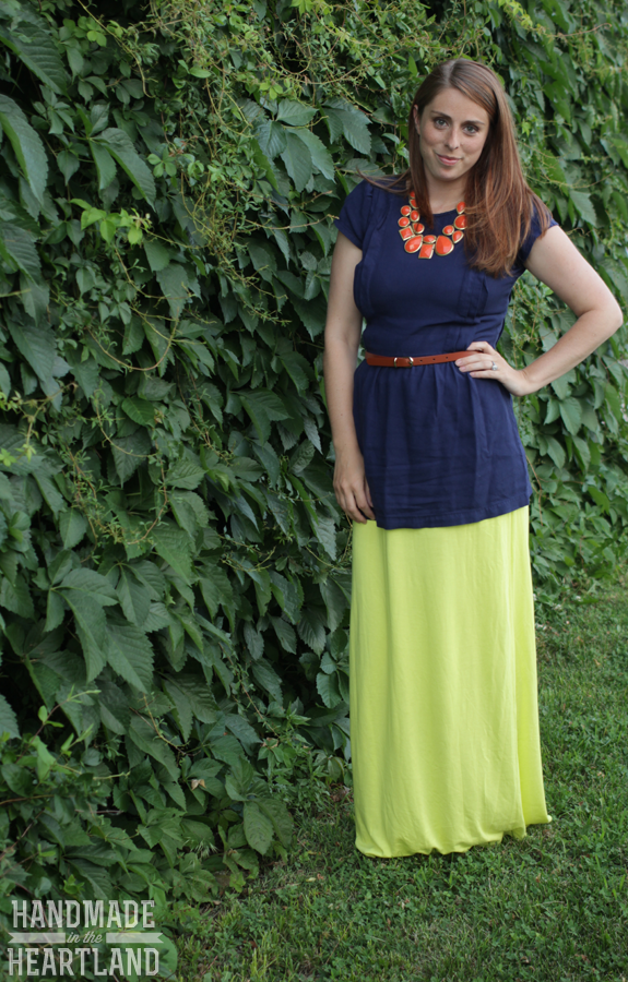 Lime-Green-DIY-Maxi-Skirt