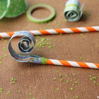 Diy Paper Straw Blowers