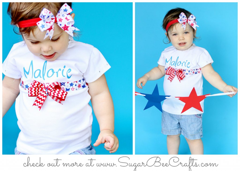 Patriotic Ribbon Shirt