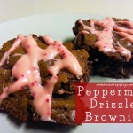 Peppermint Drizzle Brownies – While He Was Napping