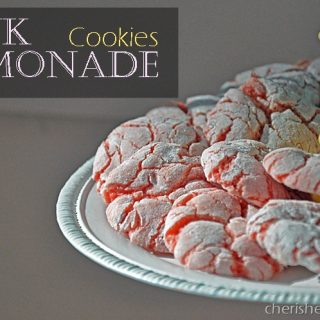 Cherished Bliss: Strawberry Pink Lemonade Cookies #cookies #recipe