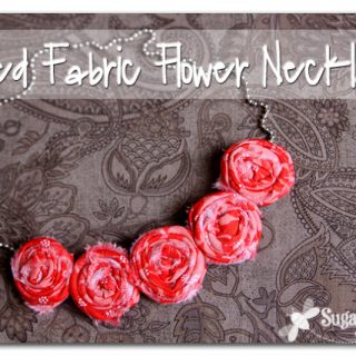 Rolled+fabric+flower+necklace